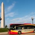 DC Circulator at the Washington Monument
