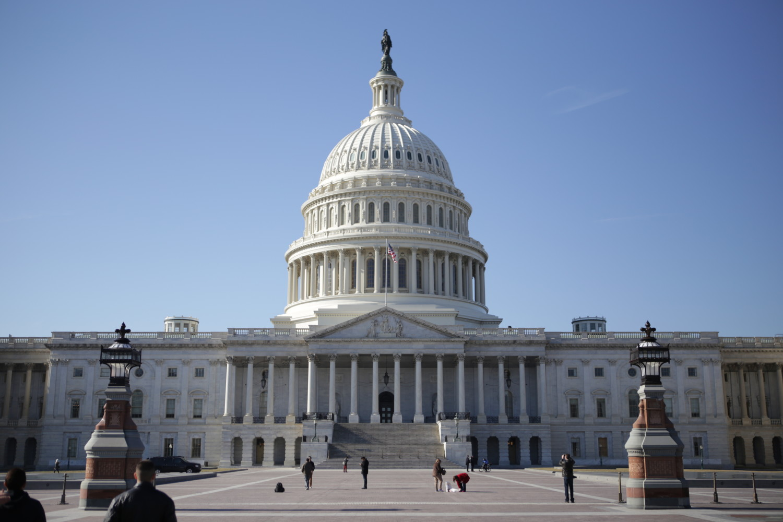 U.S. Capitol Building in Capitol Hill