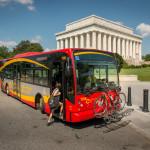 DC Circulator at Lincoln Memorial