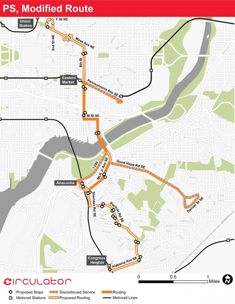 Potomac-Ave-Skyland-Modified-Route-Map