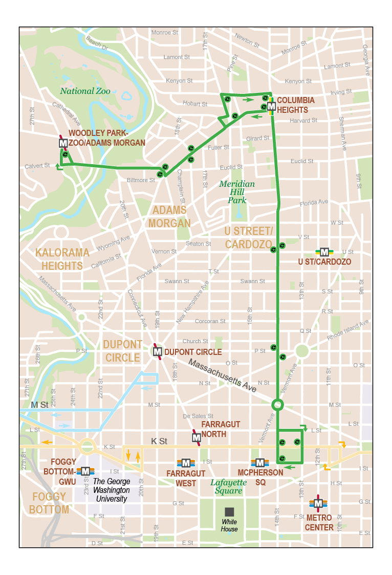 Woodley Park-Adams Morgan-McPherson Square Metro ... on local map, repeater map, fan map, mbta orange line map, cta brown line map,