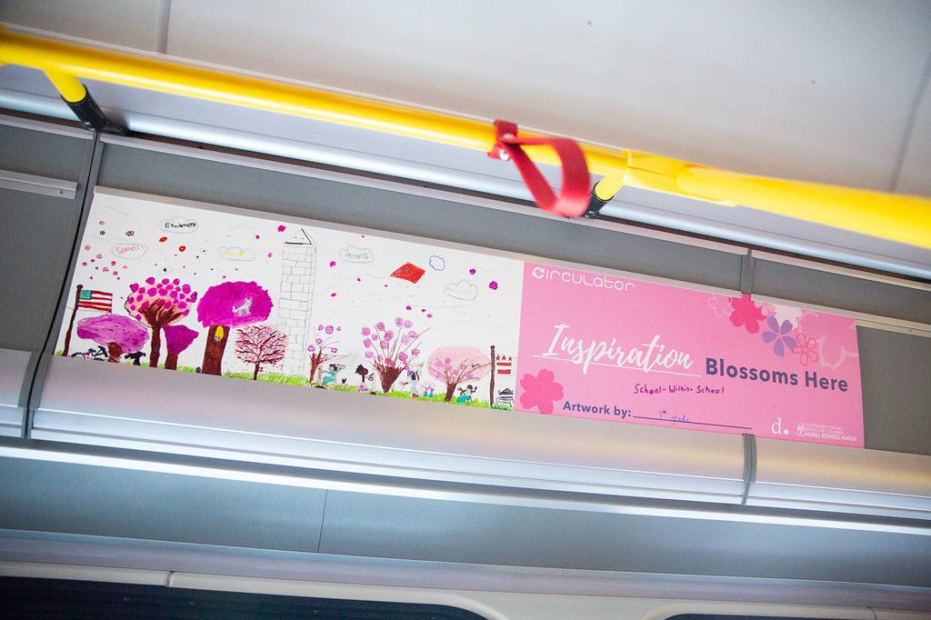 Blossom Bus Contest Washington D C Circulator